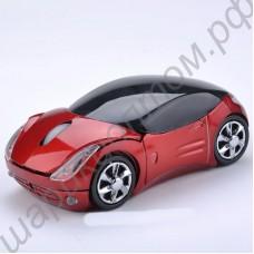 Беспроводная компьютерная мышь в виде игрушечной машинки