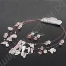 Гарнитуры (наборы украшений): серьги, кулоны, браслеты, кольца, гребни в одном стиле