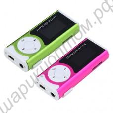 MP3 плеер с дисплеем, динамиком и фонариком