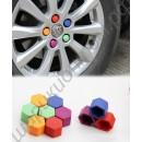 Колпачки силиконовые флуоресцентные на болты автомобильных дисков