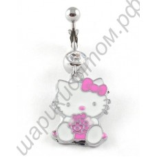 Кольцо в пупок belly ring body jewelry HK