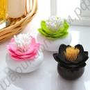 Подставка для зубочисток и ушных палочек в виде цветка лотоса