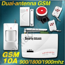 GSM сигнализация с беспроводными датчиками