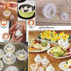 Формы для варки яиц без скорлупы (набор - 6 шт.)