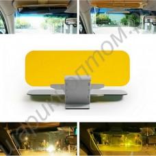Cолнцезащитный, антибликовый и ночной козырек для автомобиля hd vision visor