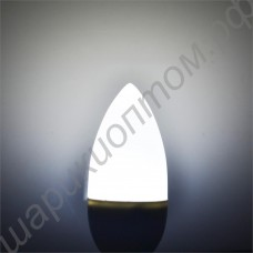 Светодиодная лампа-свеча матовая, цоколь Е14, 3 Вт, 220 В