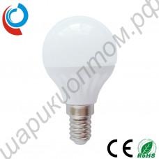 Лампа светодиодная Е14 груша матовая, 3 Вт, 220В