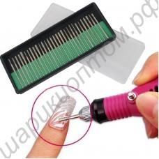 Набор насадок для маникюрного электрического фрезера (30 шт.)