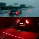 Лазерный фонарь на авто сзади