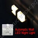 Светодиодный детский ночник с датчиком света
