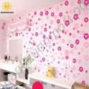 Наклейки (стикеры) на стену в виде удивительных цветов