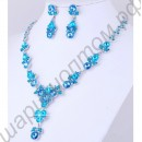 Гарнитур rhinestone wedding necklace earing