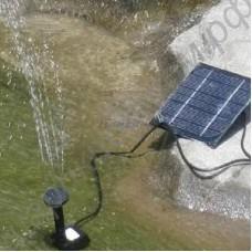 Фонтан на солнечной батарее