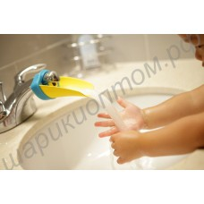 Удлинитель-излив на кран для детей