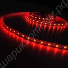 Светодиодная лента SMD5050 красного цвета