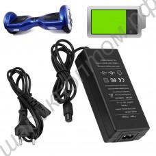 Зарядное устройство для гироскутеров, самокатов/сяокатов и другого электротранспорта с аккумуляторами 36В
