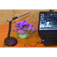 Настольная лампа «Мира» для растений с питанием от USB-порта 5В, гарантийное обслуживание - 1 год