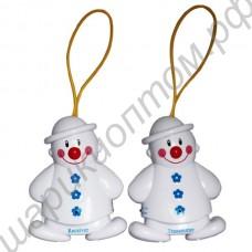 Радионяня в виде двух снеговичков
