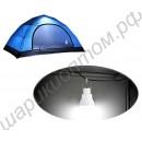 Фонарь в палатку с зарядкой от солнечной батареи