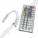 Контроллер RGB светодиодной ленты с пультом управления на 44 кнопки