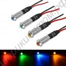 Контрольная сигнальная 12В светодиодная лампа с резьбовым креплением