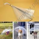 Зонтик прозрачный для собак