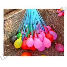 Водяные бомбочки из шариков с насадкой на кран (37 шт.)