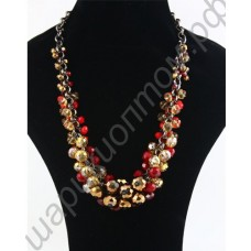 Ожерелье Handmade Crystal Beads Necklace