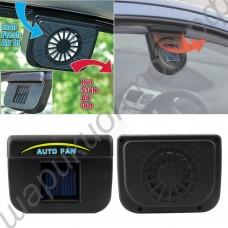 Вентиляционная вытяжка на солнечной батарее в автомобиль