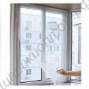 Антимоскитная сетка на окно на липучках