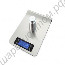 Весы кухонные электронные с подвесом на рейлинг