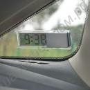 Прозрачные электронные часы