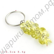 Кольцо для соска Piercing Cubic Zirconiuml Ladies