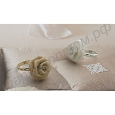 Кольцо Quaint Texture Gauze Rose Ring