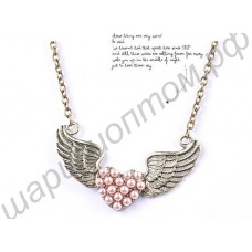 Подвеска Vintage Angel wings necklace