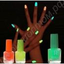 Флуоресцентный лак для ногтей