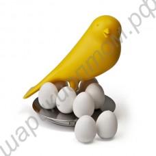 Магнитная птичка и 8 магнитных яичек