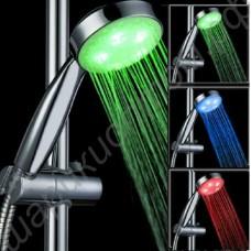 Светящаяся насадка LED на душ