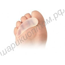 Подушечки гелевые под пальцы ног, 1 пара