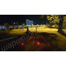 Задний велосипедный фонарь с лазером