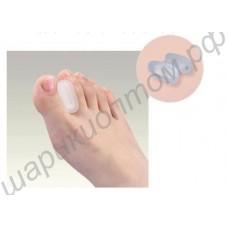 Силиконовая вставка между первым и вторым пальцами ноги, 1 пара