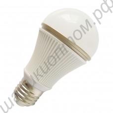 Светодиодная лампа (LED) Е27 5Вт, шар матовый