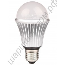 Светодиодная лампа (LED) Е27 7Вт, шар матовый