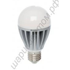 Светодиодная лампа (LED) Е27 12Вт (аналог лампы накаливания 75Вт), шар матовый