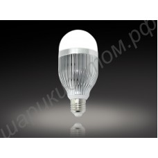 Светодиодная лампа (LED) Е27 24Вт, шар матовый