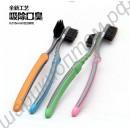 Зубная щётка с бамбуковым углем de lux