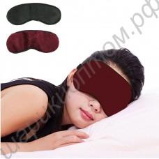 Турмалиновая маска-повязка с биомагнитами на глаза