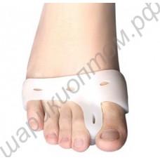 Разделитель первого и второго пальцев ног с охватом стопы, 1 пара