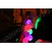Светящиеся шары диаметром 30 см/12 дюймов (наполненные гелием) синего, красного, жёлтого, зелёного и белого цветов