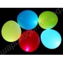 Светящиеся шары диаметром 30 см, наполненные гелием